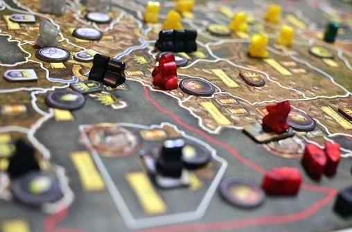 A strategic board game